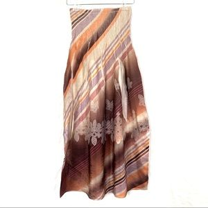 LAPIS Anthro Boho Floral Tube Dress/Skirt-OS